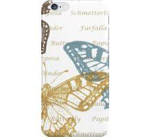 Papillon iPhone Case/Skin