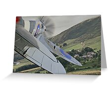 Looking to Land Greeting Card