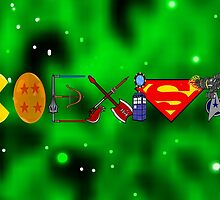 Coexist 2.0 with background by EpicNerdom