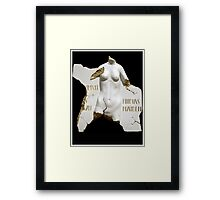 Pheidias Maiden Framed Print