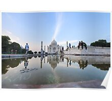 India, Agra, The Taj Mahal Poster