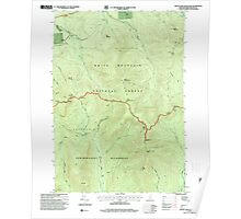 USGS TOPO Map New Hampshire NH South Twin Mountain 329795 1995 24000 Poster