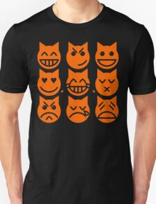 The 9 Lives of the Emoji Cat T-Shirt