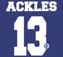 Supernatural - Ackles Jersey #13   Unisex T-Shirt