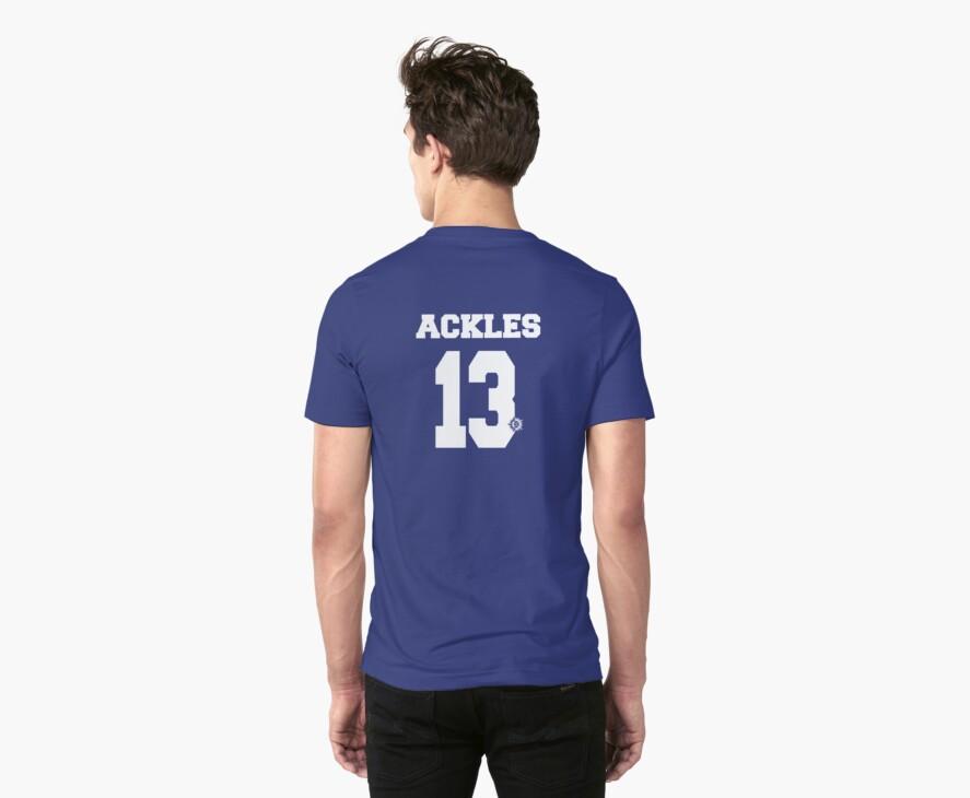 Supernatural - Ackles Jersey #13 by PotatoCrisp