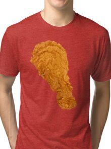 Fried Chicken Leg Tri-blend T-Shirt