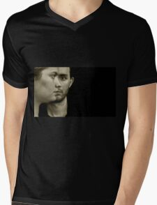 Soft romantic picture of a young couple Mens V-Neck T-Shirt