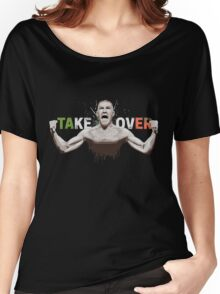 """Conor McGregor """"Take Over"""" Eire champion design Women's Relaxed Fit T-Shirt"""
