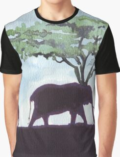 Africa's Grandest Animal Graphic T-Shirt