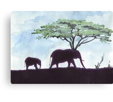 Africa's Grandest Animal Canvas Print