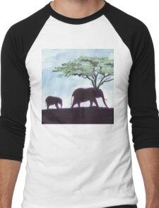 Africa's Grandest Animal Men's Baseball ¾ T-Shirt