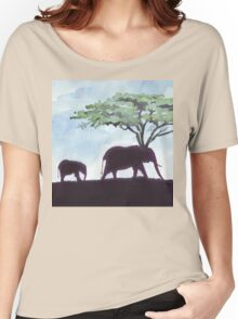 Africa's Grandest Animal Women's Relaxed Fit T-Shirt