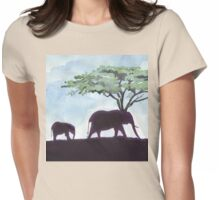 Africa's Grandest Animal Womens Fitted T-Shirt