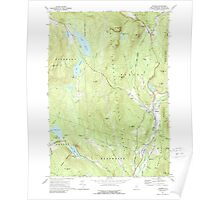 USGS TOPO Map New Hampshire NH Warren 329842 1973 24000 Poster