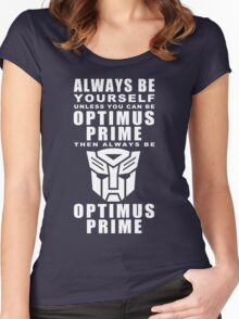 Always - Prime Women's Fitted Scoop T-Shirt