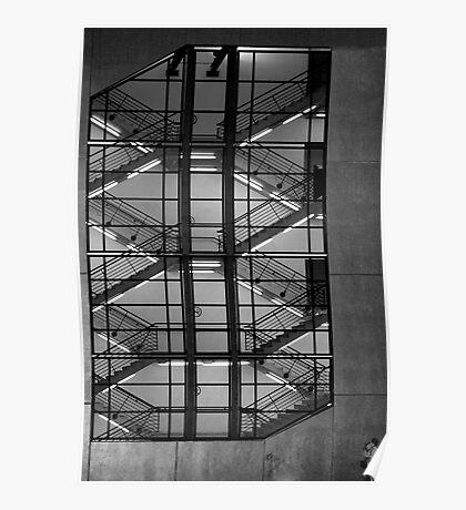 Melbourne architecture Poster