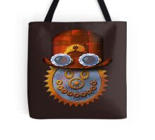 steampunk smileyface Tote Bag