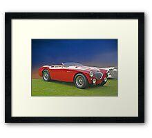 1956 Austin-Healy M100 Framed Print