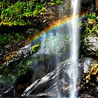 rainbow fall by thehylian
