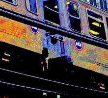 { chicago l, chicago el - series: 1 } Sticker
