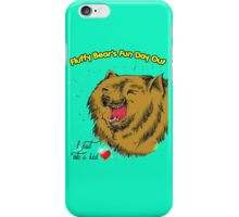 Fluffy Bear's Fun Day Out iPhone Case/Skin