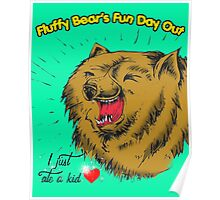 Fluffy Bear's Fun Day Out Poster