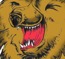 Fluffy Bear's Fun Day Out Sticker