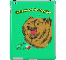 Fluffy Bear's Fun Day Out iPad Case/Skin