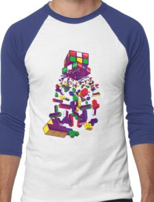 The God Cube Men's Baseball ¾ T-Shirt