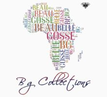 BG Colletions Tee African Colors  by BGLUIS