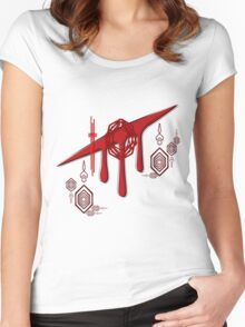 Hero of Blood Women's Fitted Scoop T-Shirt