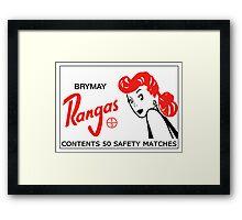 Rangas - V2 Framed Print