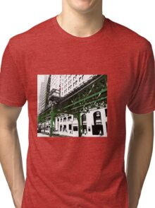 { chicago l - chicago el - series: 2 } Tri-blend T-Shirt