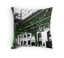 { chicago l - chicago el - series: 2 } Throw Pillow