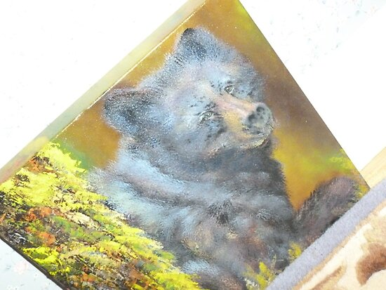Smoky Mountain Black Bears by JeffeeArt4u