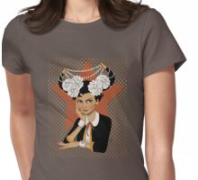 Chanel: the Little Black Bull Womens Fitted T-Shirt