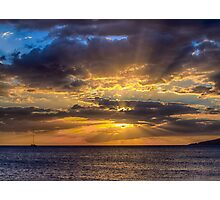 Maui Sunset 11-11-12 Photographic Print