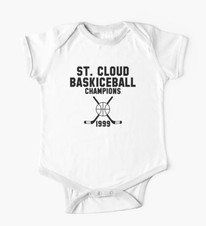 St. Cloud Baskiceball Champions One Piece - Short Sleeve