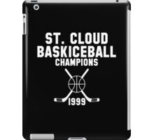 St. Cloud Baskiceball Champions iPad Case/Skin