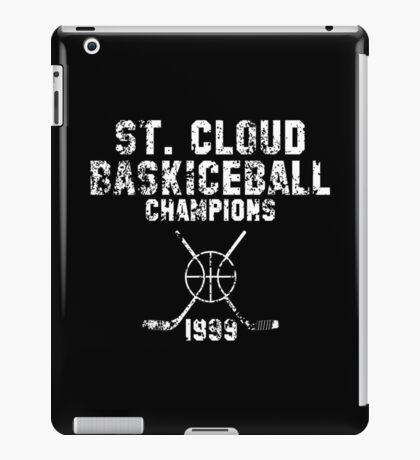 St. Cloud Baskiceball Champions iPad Case/Skin