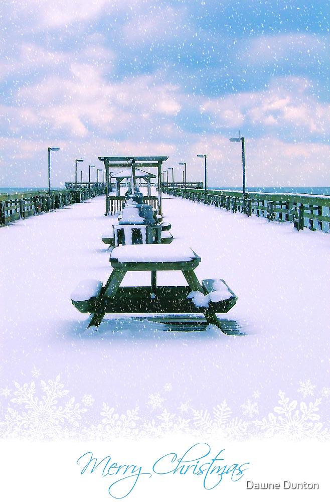 Merry Christmas From The Beach by ©Dawne M. Dunton