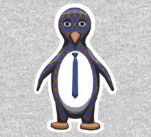 Argyle Penguin One Piece - Long Sleeve