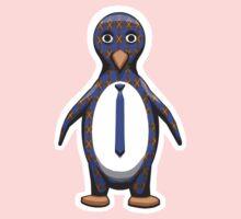 Argyle Penguin One Piece - Short Sleeve