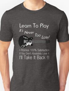 Learn To Play Electric Guitar T-Shirt