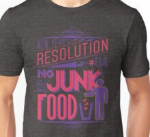 New Year's Resolution #4 - No more junk food T-Shirt