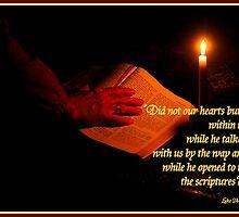 Luke 24:32 by Paula Tohline  Calhoun