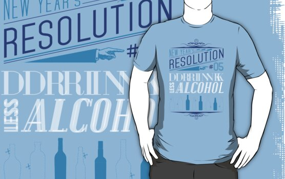 New Year's Resolution #5 - Drink less alcohol by Viktor Hertz