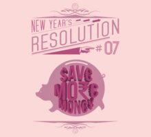 New Year's Resolution #7 - Save more money by Viktor Hertz