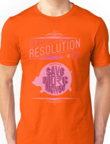 New Year's Resolution #7 - Save more money T-Shirt