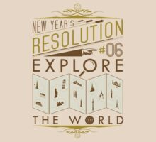 New Year's Resolution #6 - Explore the world by Viktor Hertz